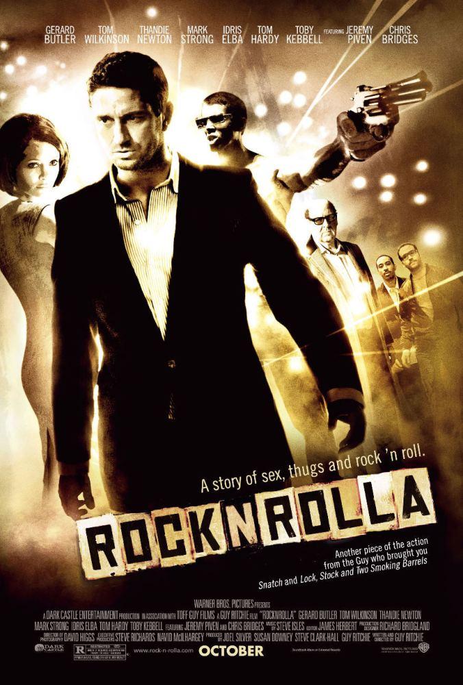 locandina rocknrolla, poster, guy ritchie, gerald butler