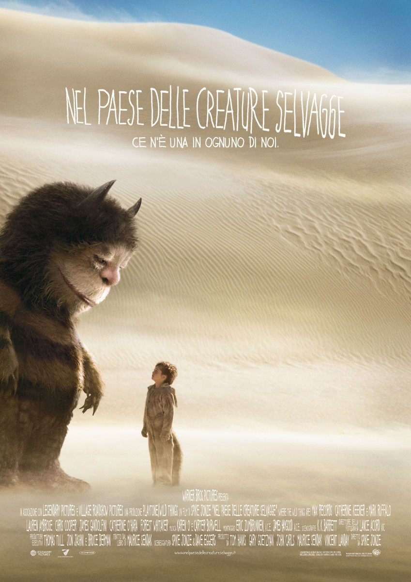 "Recensione ""Nel paese delle creature selvagge"" (""Where the wild things are"", 2009)"