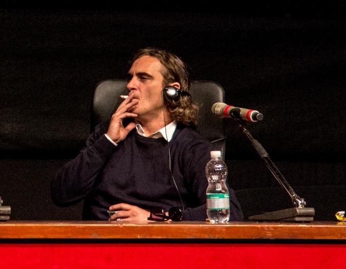 Joaquin Phoenix Cigarette