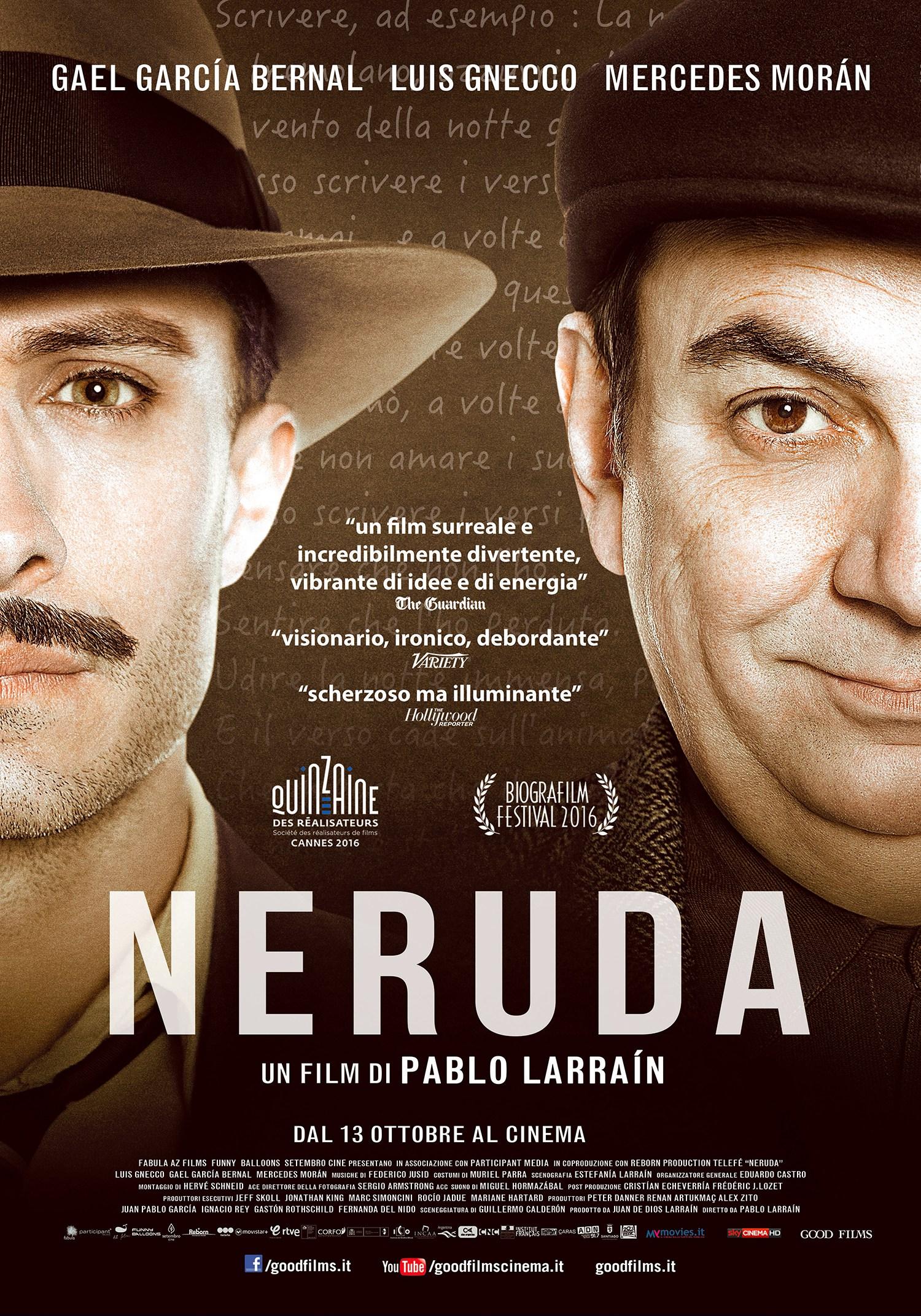"Recensione ""Neruda"" (2016)"