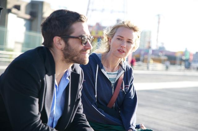 "(From L-R): Jake Gyllenhaal as ""Davis"" and Naomi Watts as ""Kar"