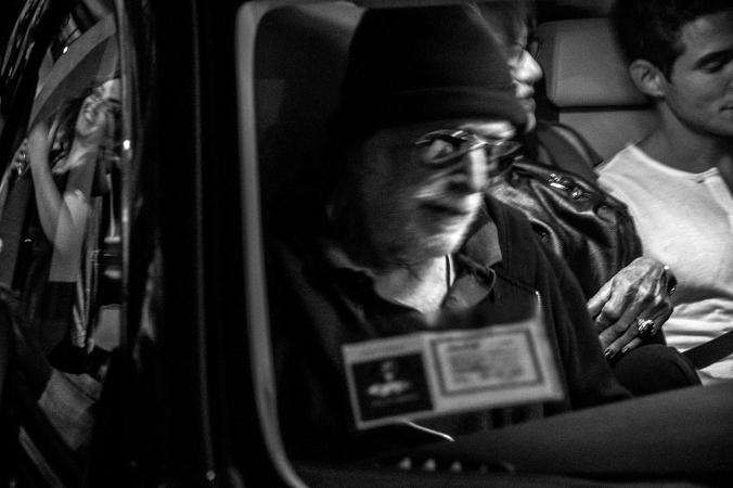 Tomas Milian al Festival di Roma 2014. Foto di Alessio Trerotoli
