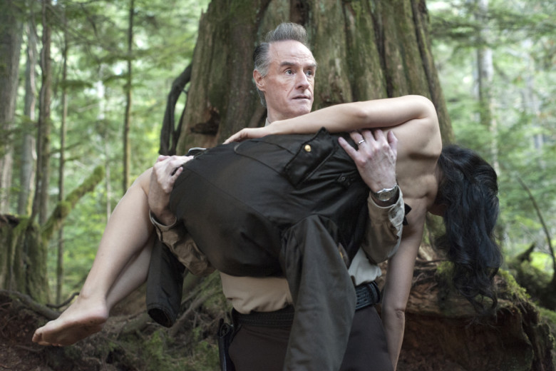 Harry Goaz in a still from Twin Peaks. Photo: Suzanne Tenner/SHOWTIME
