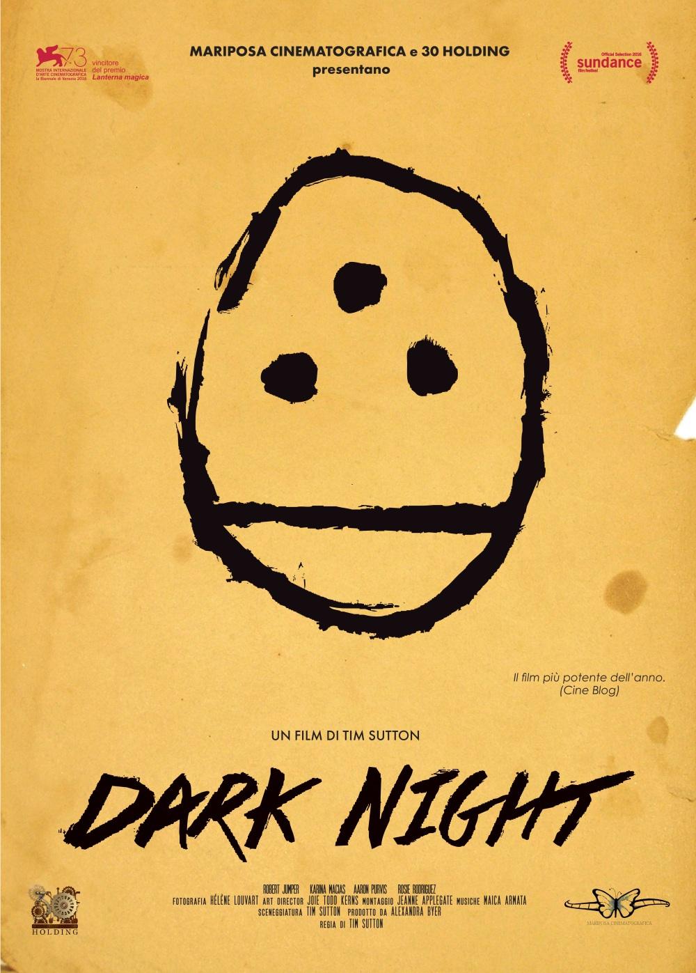 locandina DARK NIGHT