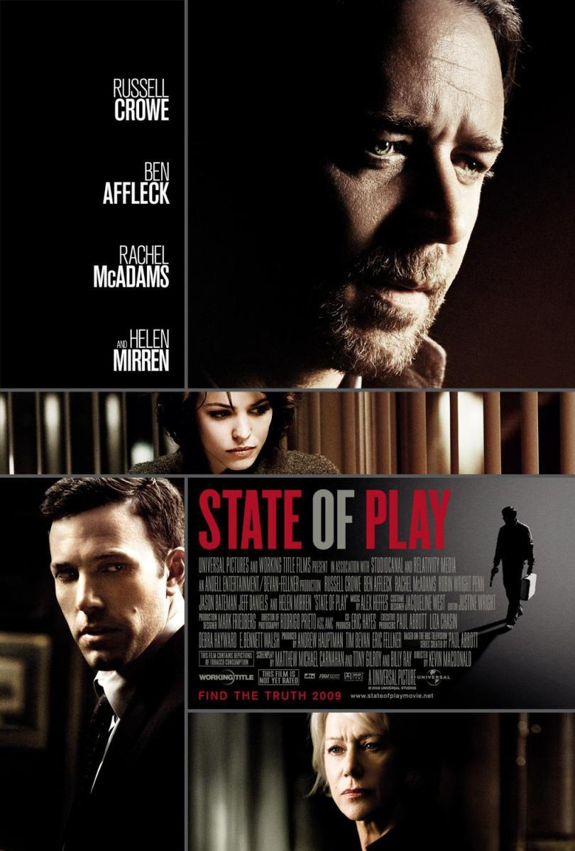 "Recensione ""State of play"" (2009)"