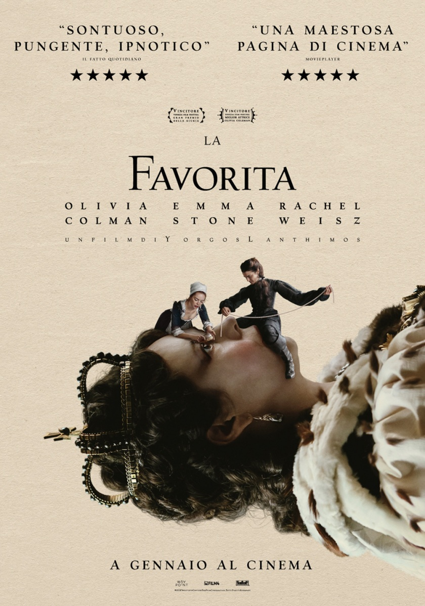 "Recensione ""La Favorita"" (""The Favourite"", 2018)"