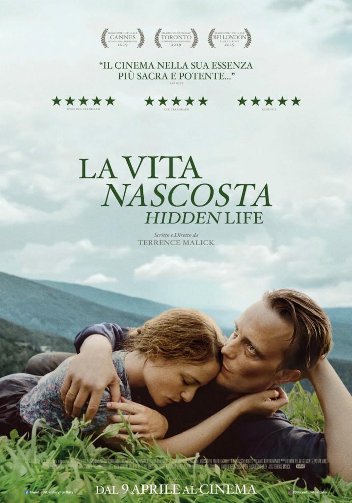 locandina, poster, la vita nascosta, malick, a hidden life